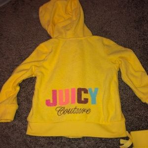 Baby girls juicy couture outfit!